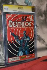 Deathlok #1 CGC 9.8 SS Mike Perkins 2014 White pages