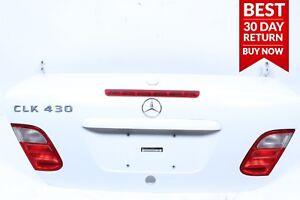 98-03 Mercedes W208 CLK430 Rear Trunk Lid Deck Shell Tailgate Panel Cover A112