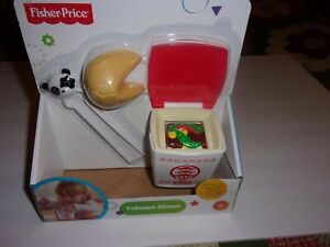 Fisher Price Fun with Food Servin' Surprises Chinese Takeout Dinner Container