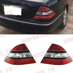 For Mercedes-Benz W220 S-Class 1998-2005 LED Tail Light No Bulb Refiting