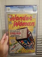 Wonder Woman #127 1962-  CGC 7.0 WHITE WP