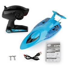 Motoscafo elettrico per barche da crociera RC 3322 con giocattolo blu per