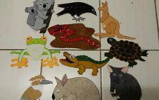 FELT BOARD/ STORY RHYME.  AUSTRALIAN ANIMALS CUSTOM LARGE.