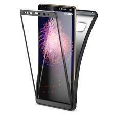 Samsung Galaxy Note 8 Handyhülle von NALIA, Rahmen vorne & hinten Silikon Case