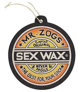 Sex Wax Car Air Freshener Coconut Ute Freshener Van Freshener SEXWAX Mr Zoggs