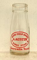 lovely rare 1950s Kings Pyon Dairy Hereford school milk bottle : 1/3