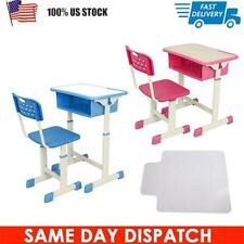 Adjustable Children's Desk and Chair Set Child Study Kids Study Table US STOCK