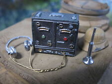 WWII Wehrmacht RC LKW Panzer Funkgerät Diorama Deko Bausatz Zubehör Kit 1/16