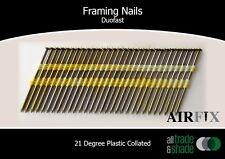 Framing Nails – Duofast - Bright Finish - Box: 3000 - Size: 75 x 3.0mm