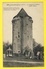 cpa FRANCE Bretagne LE GRAND FOUGERAY Donjon du Château ALAMBIC Bouilleur de Cru