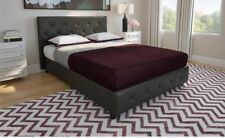 DHP Dakota Faux Leather Upholstered full size bed
