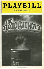 PLAYBILL: The Toxic Avenger (2009) Diana DeGarmo, Nick Cordero, Demond Green