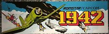 """1942 Arcade Marquee 26"""" x 8"""""""