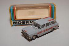 B RUSSIAN CAR USSR CCCP NOVOEXPORT A4 MOSKVITCH 427 GREY AEROFLOT VN MINT BOXED