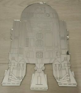 Mirror Star Wars R2D2 droid robot ideal 4 Den Plaque Wall Art Boys Bedroom