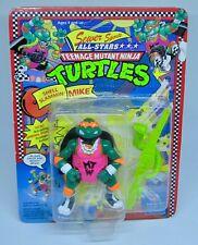 """TMNT Teenage Mutant Ninja Turtles  Sewer Sport All Stars """"SHELL SLAMMIN' MIKE"""""""