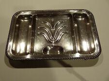 Metal carving/serving platter