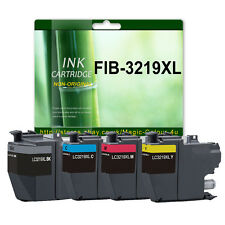 Set of 4 Ink For Brother LC3219XL MFC-J5330DW J5335DW J5730DW J5930DW J6530DW