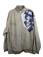 Makaveli Tupac Shakur 2Pac Velour Track Jacket Coat ~ Men's Medium Fits Large/XL
