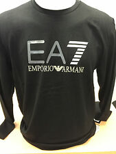 T-shirt Ea7 Emporio Armani Noir manches longues pour Homme S