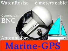 Marine Gps Active Antenna 6M Bnc 4 chartplotter receiver Garmin Lowrance Mio Ma