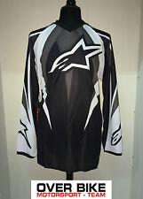 Maglia Cross, Enduro, Trial, Alpinestars Racer Jersey, grigio 376159-11, TG: XL
