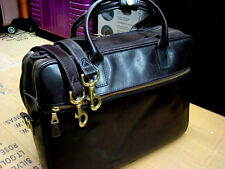 vintage MULLHOLLAND Brothers Leather Attache Briefcase LAPTOP Bag