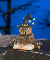 Bethany Lowe Designs: Halloween; Owl Wizard