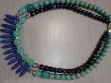 """long, great pre owned condition Loft necklace, Plastic beads, 18"""""""