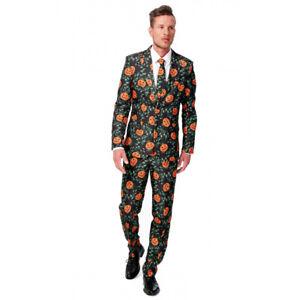 Suitmeister Pumpkin Leaves Men's Suit Halloween
