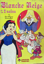 Album Panini 1983 Blanche Neige et les 7 nains Incomplet Manque 112 vignettes