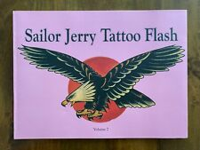 Sailor Jerry   -    Tattoo Flash  Volume 2 - book - out of print & rare!