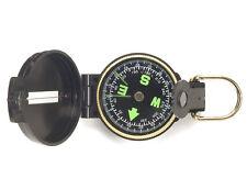 US Army Kompass Scout Kunststoffgehäuse Armeekompass Marschkompass Schwarz