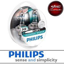 COPPIA LAMPADE PHILIPS - X-TREME VISION H4 +130% LUCE 12V 55W ALTA VISIBILITA'