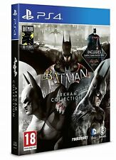 BATMAN ARKHAM COLLECTION STEELBOOK LIMITED EDITION PS4 PLAYSTATION 4 ITALIANO