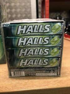 Halls Mild Spearmint Flavour 20 x 33.5g Free Uk Delivery Out of date full pack