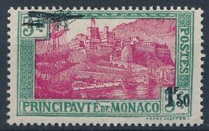 [30878] Monaco 1933 Good airmail stamp Very Fine MH