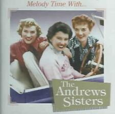 THE ANDREWS SISTERS - MELODY TIME WITH THE ANDREWS SISTERS USED - VERY GOOD CD