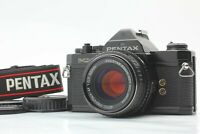 [Excellent+5] Pentax MX Black 35mm SLR Film Camera SMC-M 50mm F/1.7 Lens JAPAN