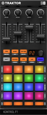Native Instruments Traktor Kontrol F1 Digital DJ Remix Midi Software Controller