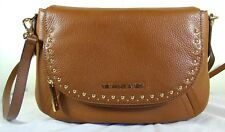 Michael Michael Kors Aria Studded Convertible Luggage Leather Shoulder Bag