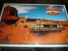 Aoshima Back To The Future Iii Delorean 1/24 Model Car Mountain