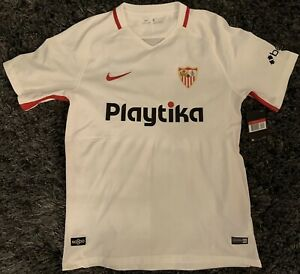 2018-2019 Sevilla Home Jersey New made by Nike w/Tags Men's Size L