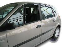 4 Déflecteurs de vent pluie air teintées Renault Scenic II et Grand Scenic 03-09