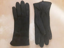 Touchpoint Women's Black Soft Leather Gloves Size large Lined never worn