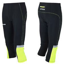 AIRTRACKS Laufhose 3/4 Lang Neon / Funktionshose / Running Hose / Tight / Neu!