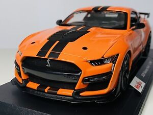 Maisto 1/18 Diecast Special Edition 2020 Mustang Shelby GT500 Orange (SALE)