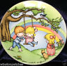 JOAN WALSH ANGLUND EBELING & REUSS DECORATIVE PLATE MAKE EACH DAY A RAINBOW 1981