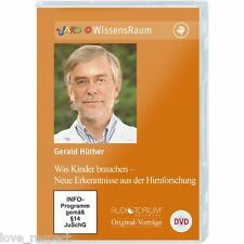 2 DVD, Gerald Hüther, WAS KINDER BRAUCHEN, neue Erkenntnisse Hirnforschung, NEU