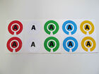 Lawn/Indoor/Crown Green Bowls Stickers ID Markers With Initials (PAIR)